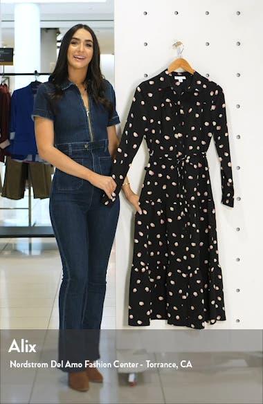 Polka Dot Long Sleeve Shirtdress, sales video thumbnail