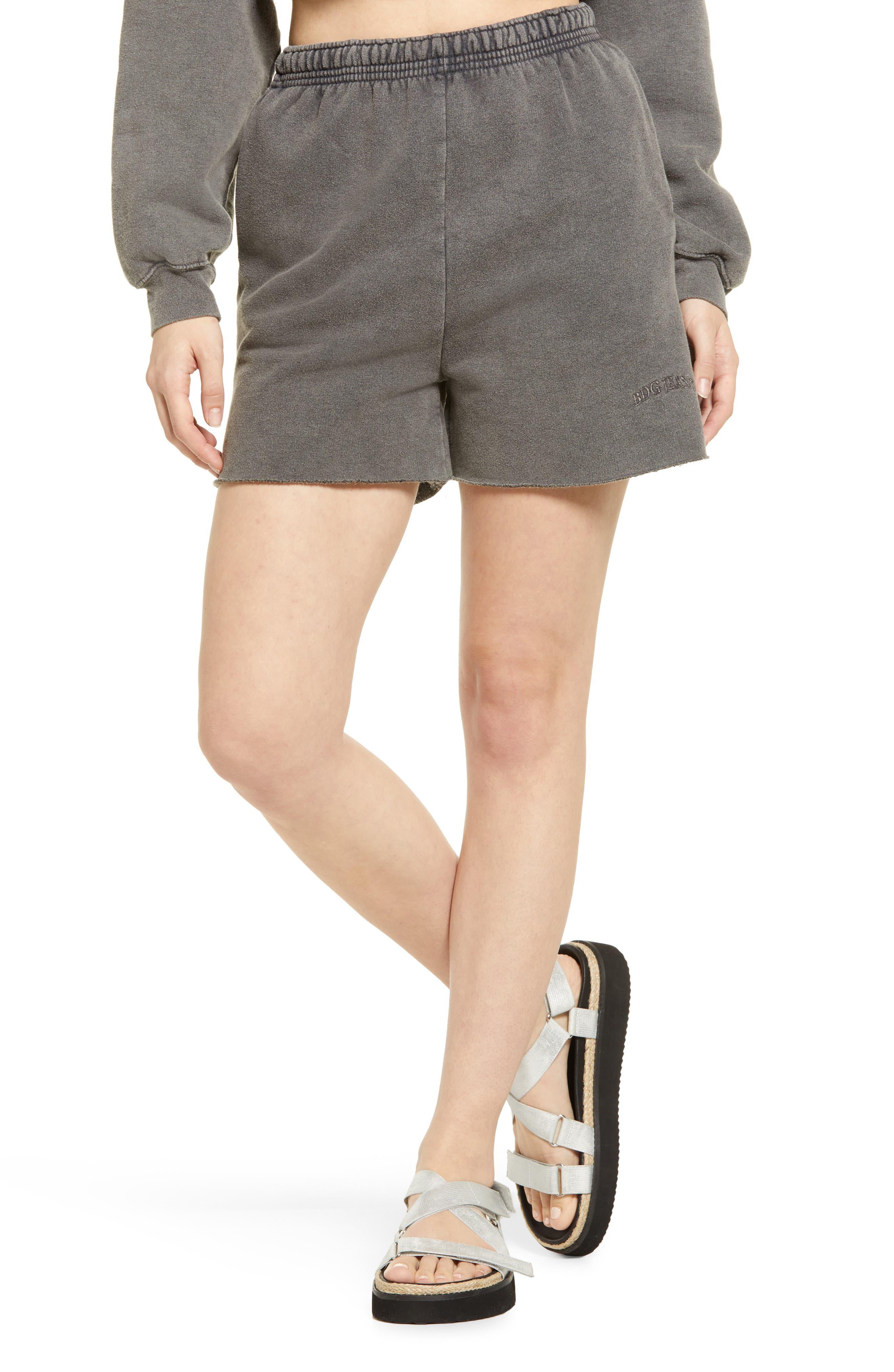 Cotton Jogger Shorts