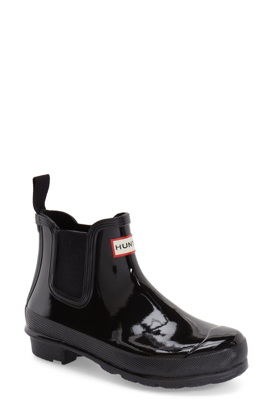 Hunter Original Gloss Waterproof Chelsea Boot
