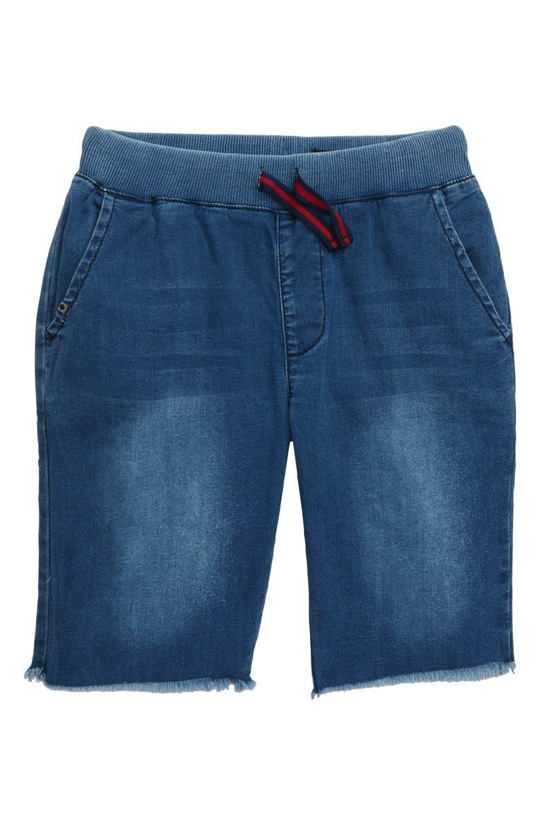 AG The Brex Knit Denim Shorts, Main, color, 436