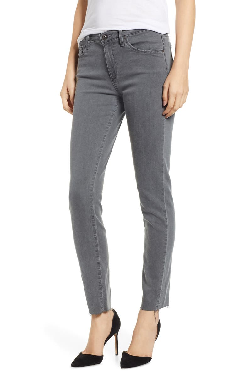 AG Prima Raw Hem Ankle Skinny Jeans, Main, color, 015