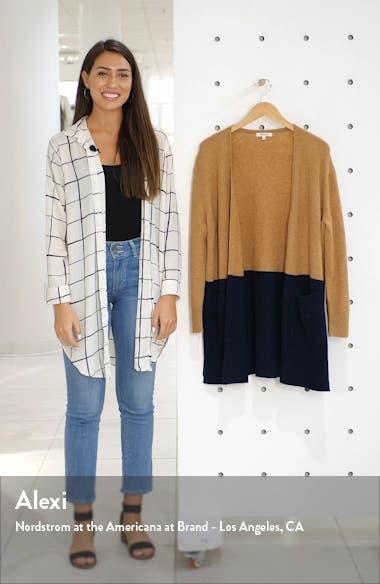 Kent Colorblock Cardigan Sweater, sales video thumbnail
