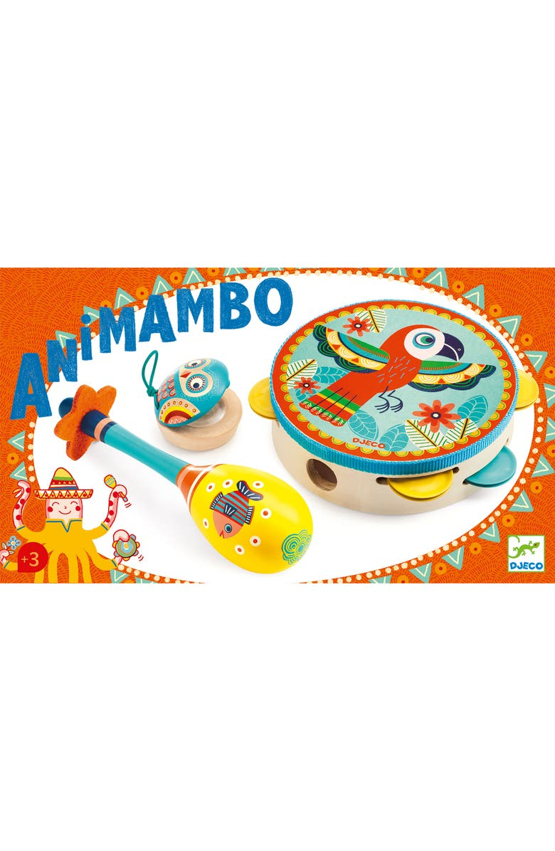 DJECO Animambo Set of 3 Instruments, Main, color, 400