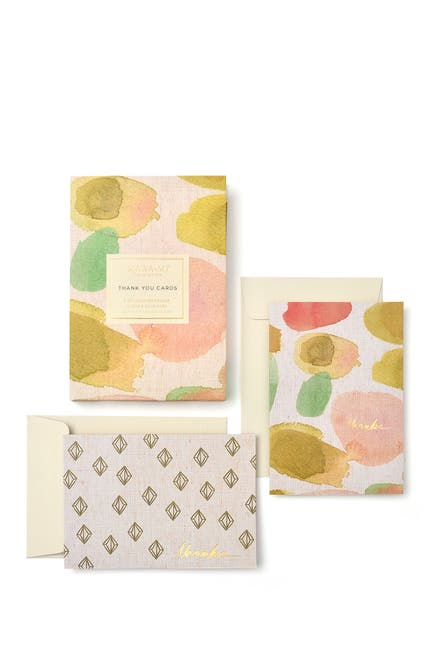 Image of GARTNER STUDIOS Watercolor Thank You Cards - Set of 8