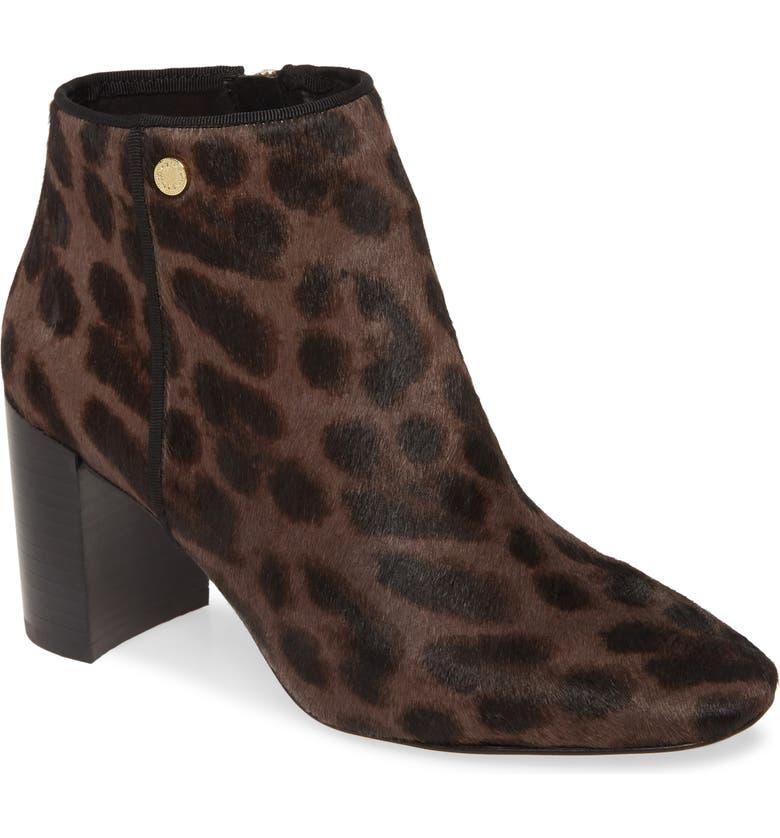 KARL LAGERFELD PARIS Ramma Genuine Calf Hair Boot, Main, color, CHOCOLATE/ BLACK CALF HAIR