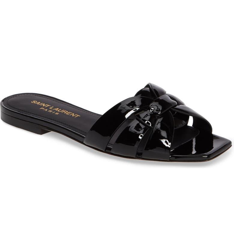 32a0ab0b51 Saint Laurent Tribute Slide Sandal (Women) | Nordstrom
