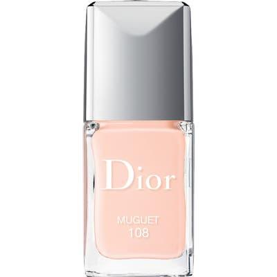 Dior Vernis Gel Shine & Long Wear Nail Lacquer - 108 Muguet