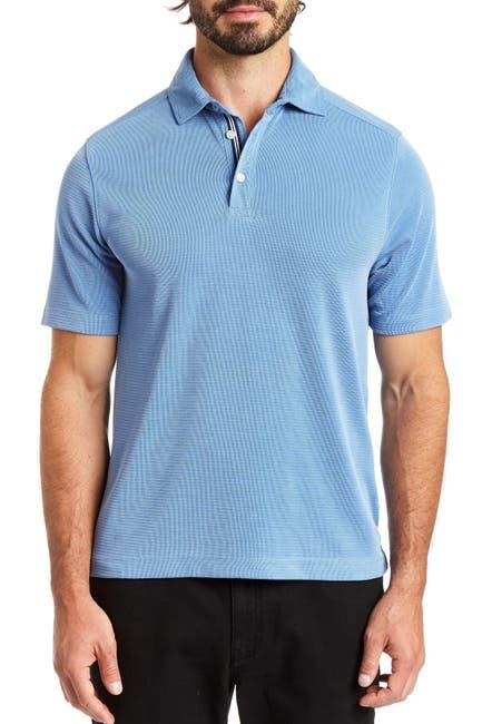 Image of Rainforest Double Pique Polo Shirt