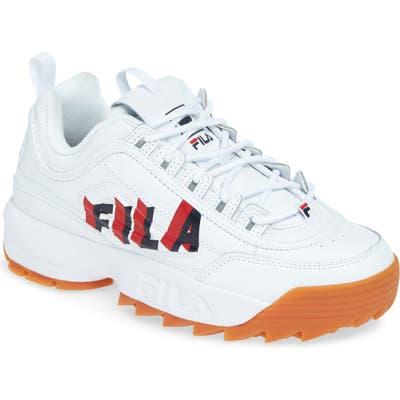 Fila Disruptor Ii Perspective Sneaker- White