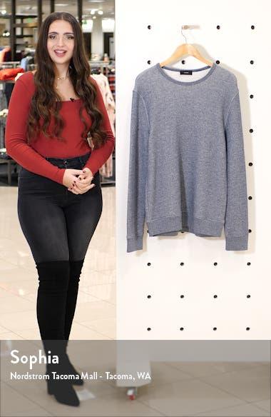 Regular Fit Crewneck Cotton Sweatshirt, sales video thumbnail