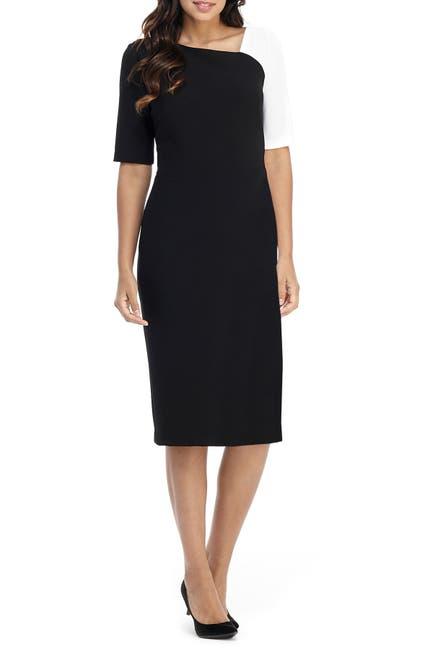 Image of Maggy London Maxene Colorblock Midi Dress