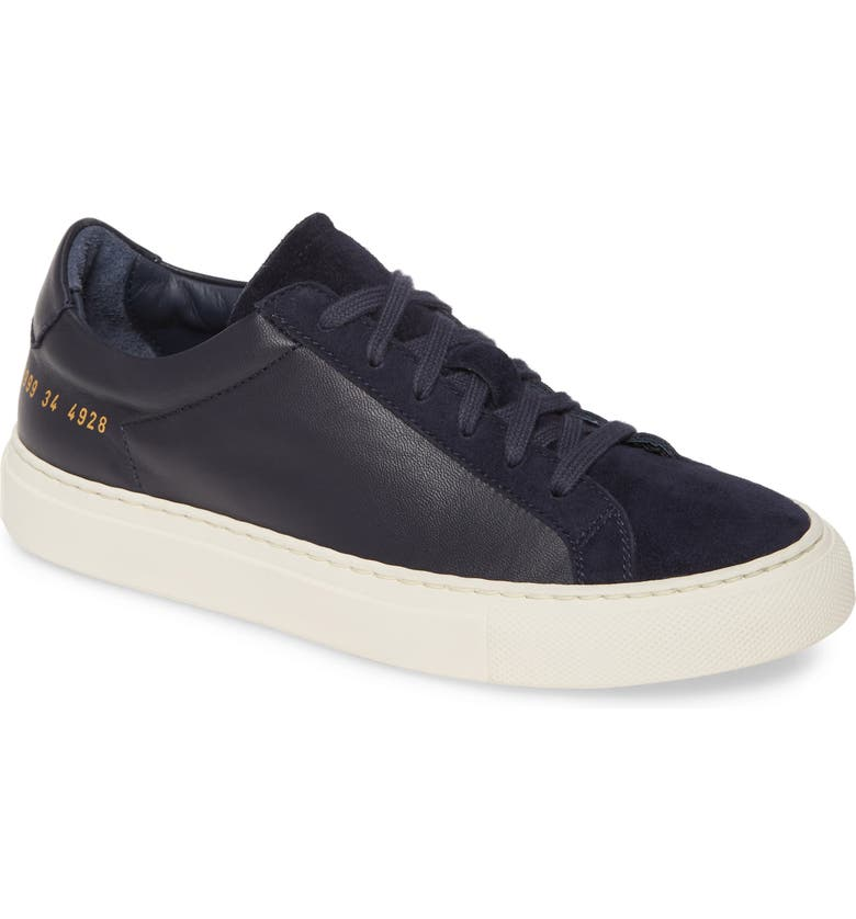 COMMON PROJECTS Achilles Sneaker, Main, color, NAVY
