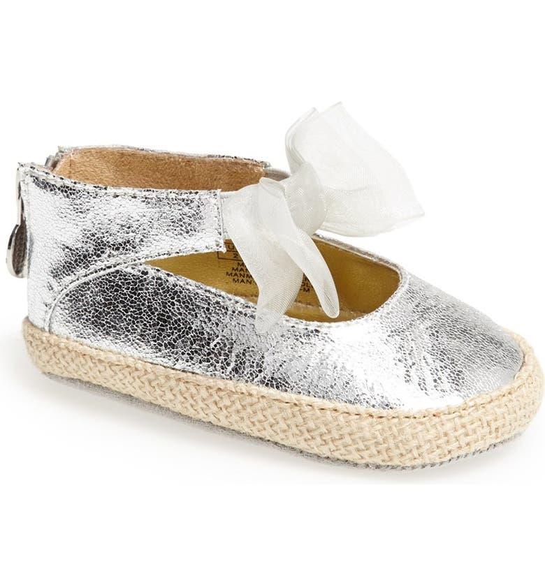 STUART WEITZMAN 'Baby Nantucket' Crib Shoe, Main, color, 054