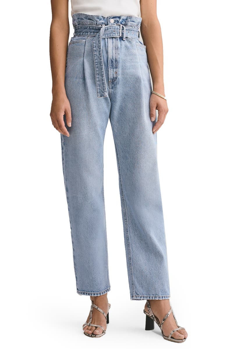 AGOLDE '90s Reworked High Waist Loose Fit Jeans, Main, color, 458