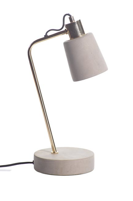Zodax Fiona Concrete Table Lamp