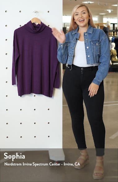Merino Wool Turtleneck Sweater, sales video thumbnail