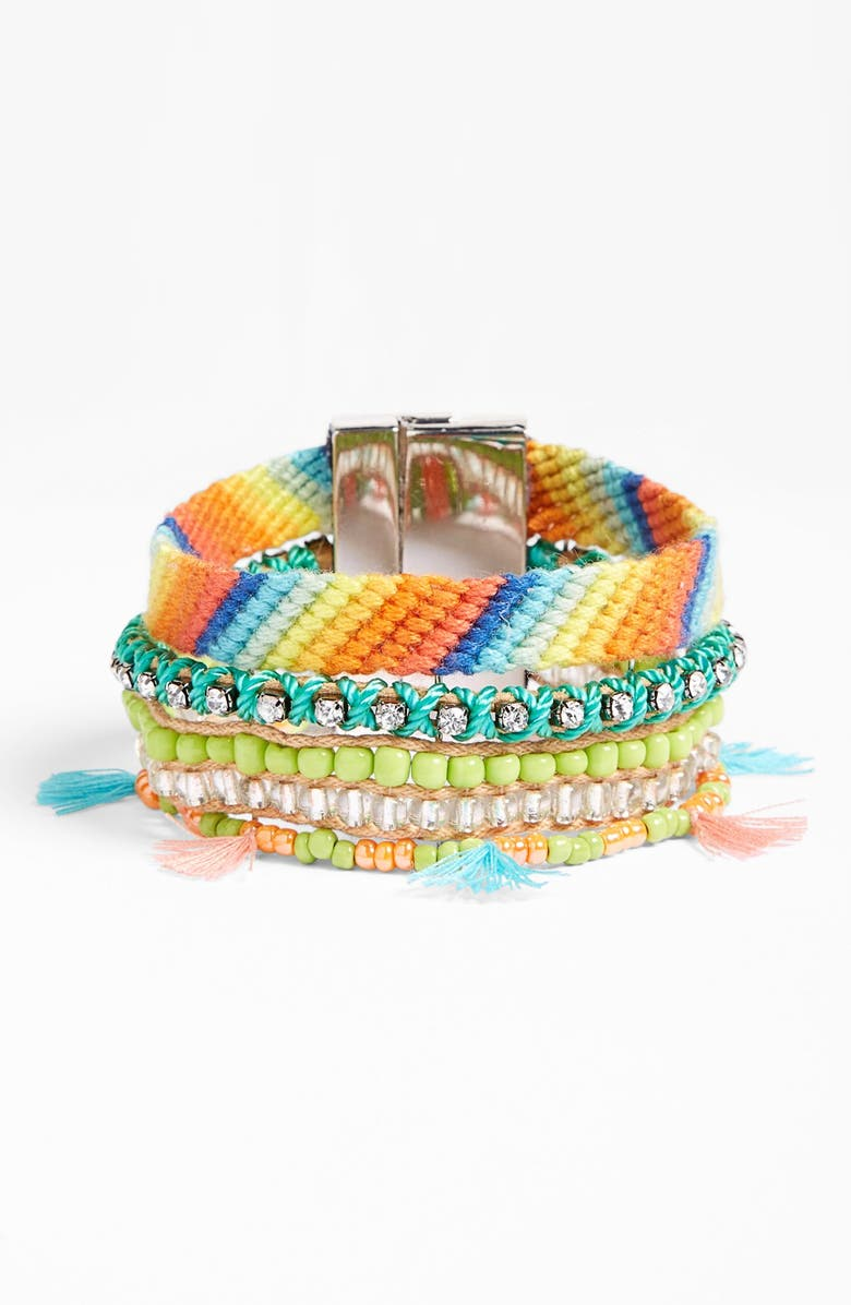 LEITH Braided Friendship Cuff, Main, color, 400