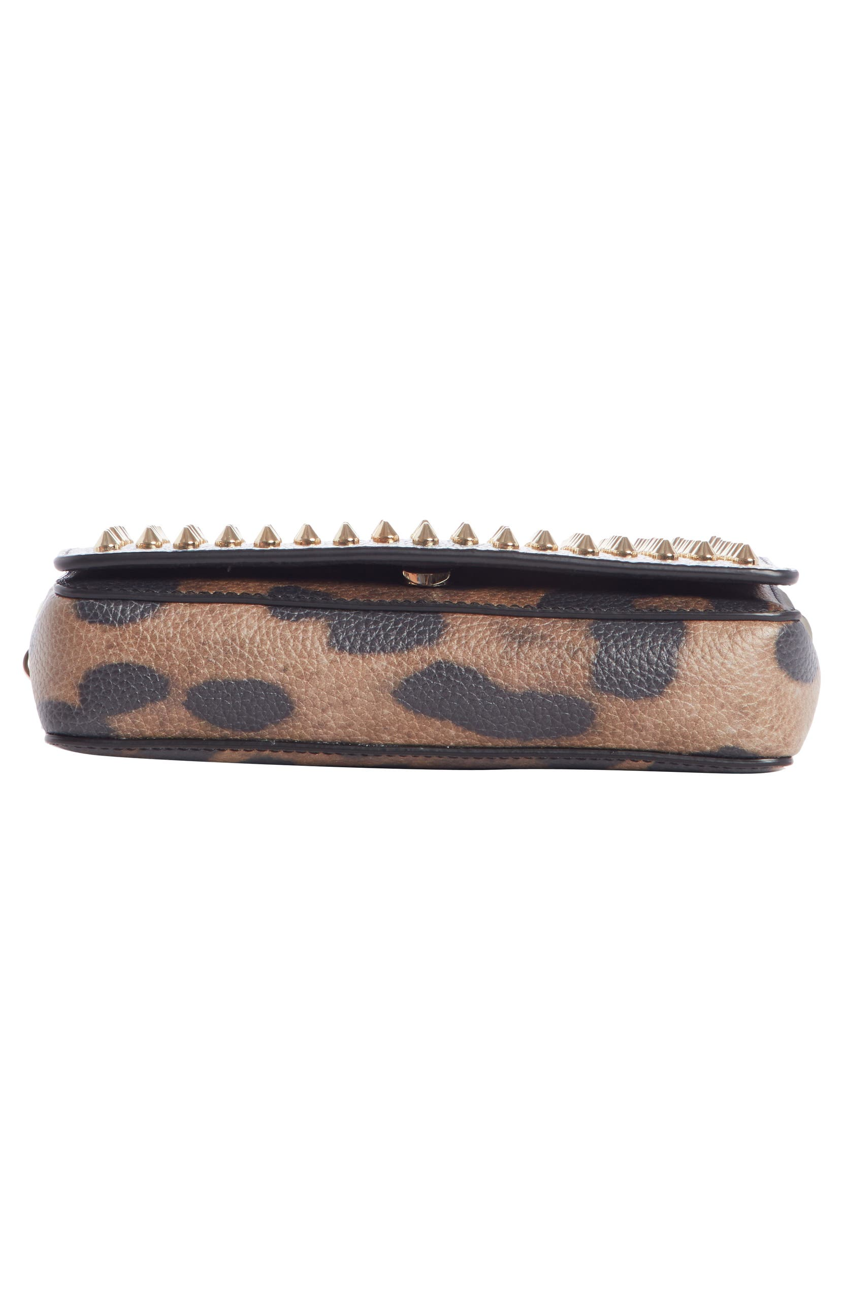 db4235babb3 Christian Louboutin Zoompouch Leopard Print Leather Clutch   Nordstrom