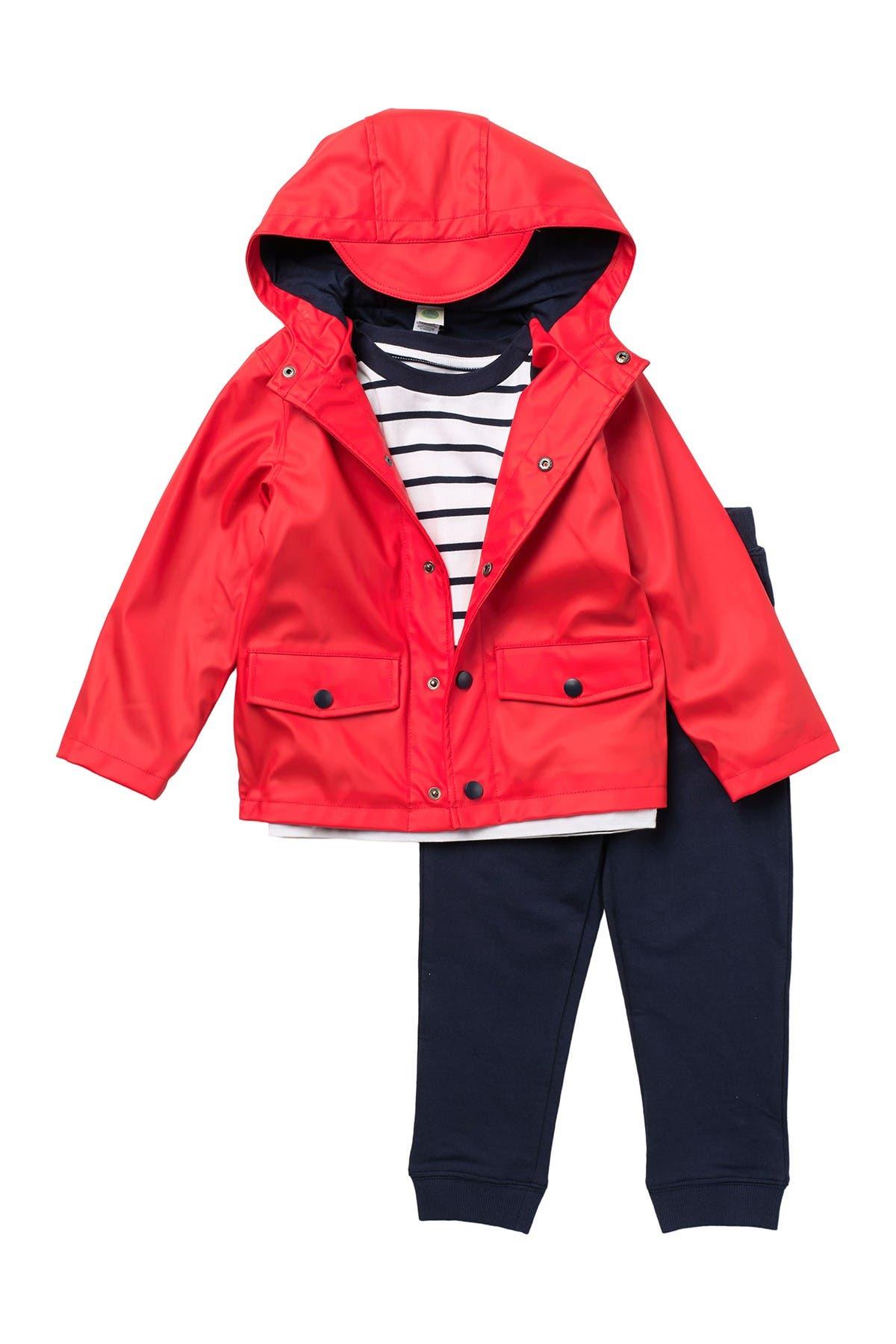 Image of Little Me Jacket, Tee, & Joggers 3-Piece Set