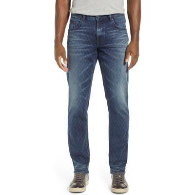 Robert Graham Helio Straight Leg Jeans, Blue