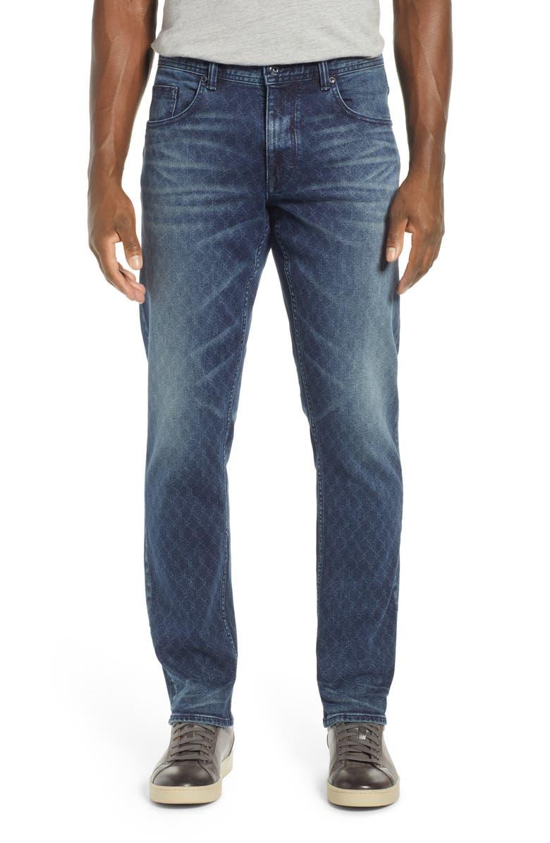 ROBERT GRAHAM Helio Straight Leg Jeans, Main, color, 405