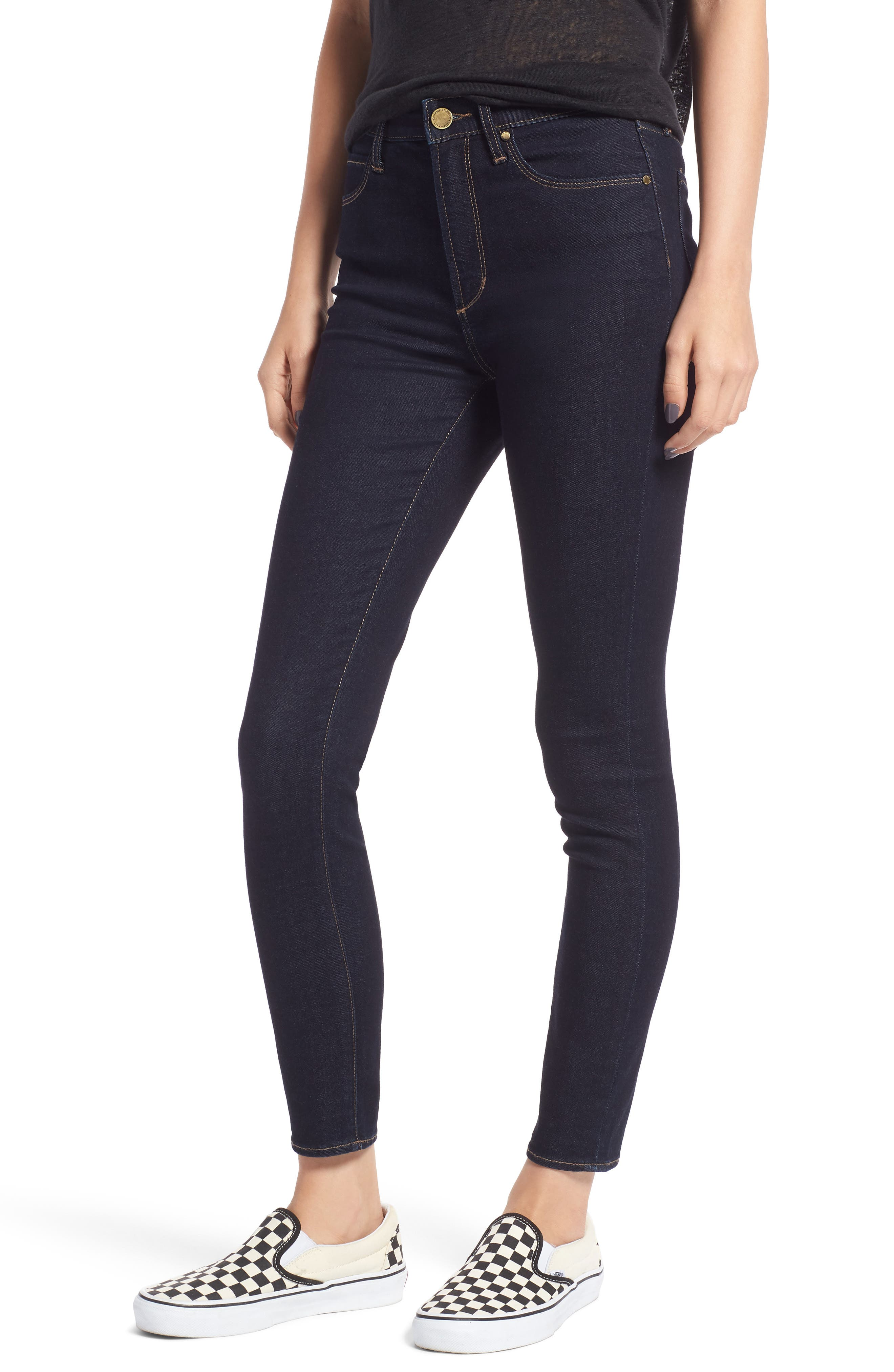 Women's Articles Of Society Heather High Waist Skinny Jeans