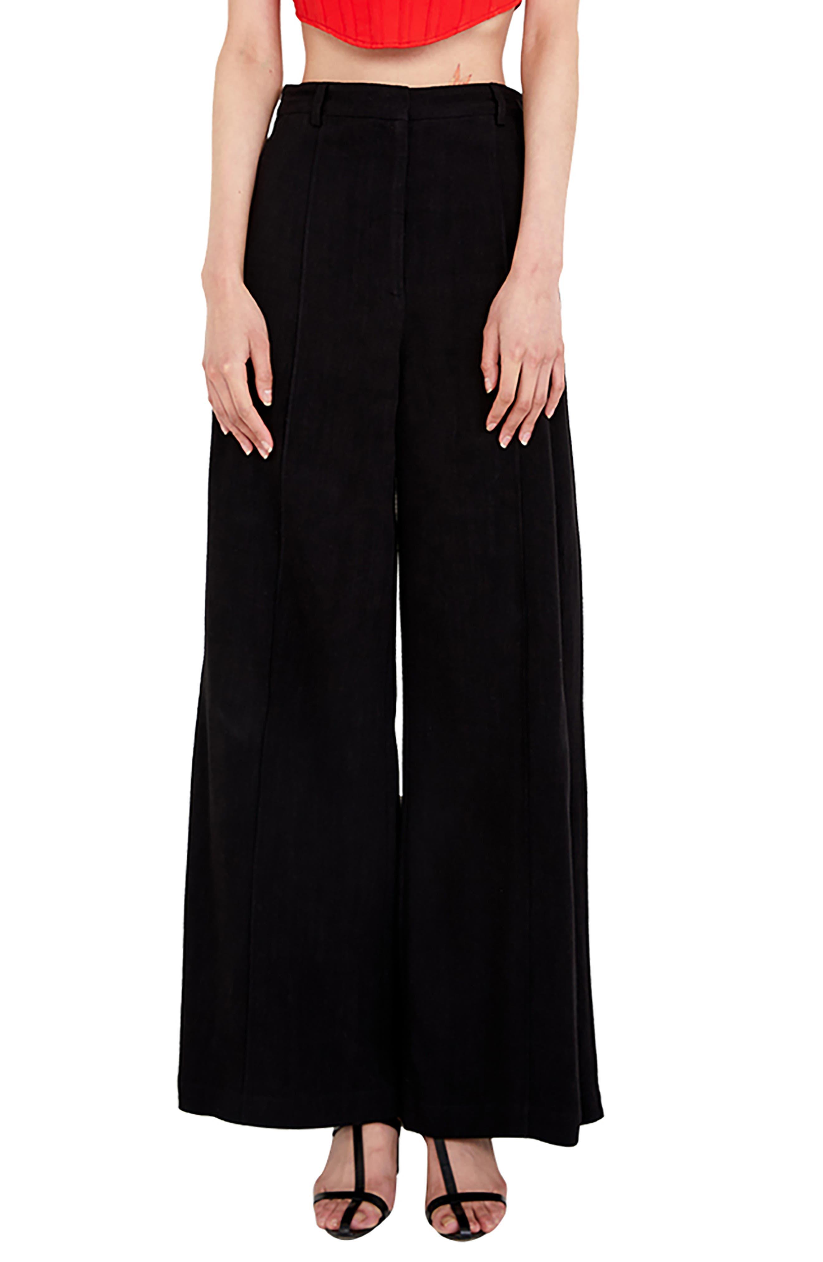 Pintuck Pants