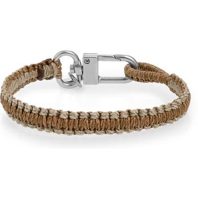 Caputo & Co. Reversible Knotted Bracelet