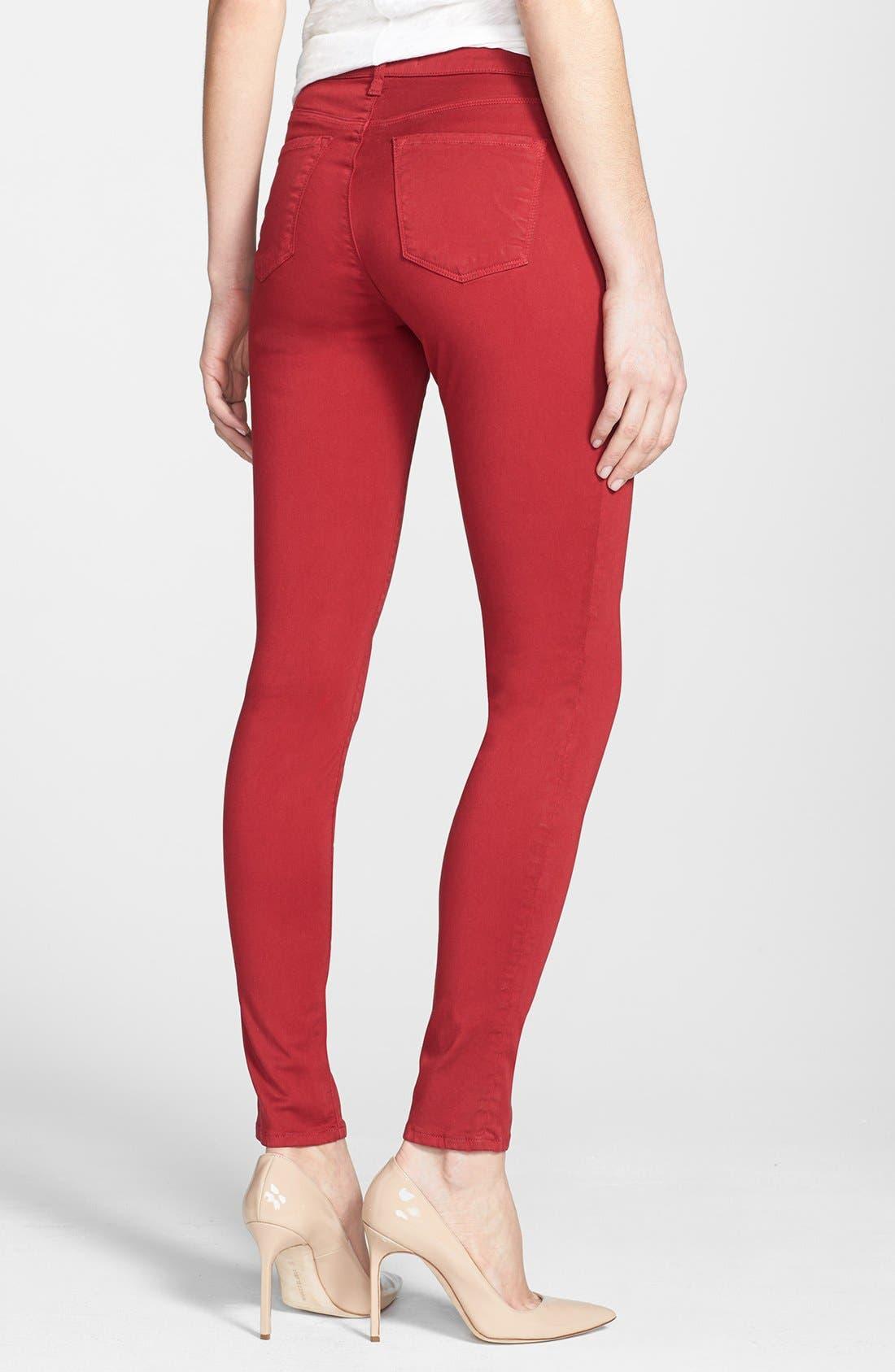 ,                             '485' Mid Rise Super Skinny Jeans,                             Alternate thumbnail 52, color,                             605