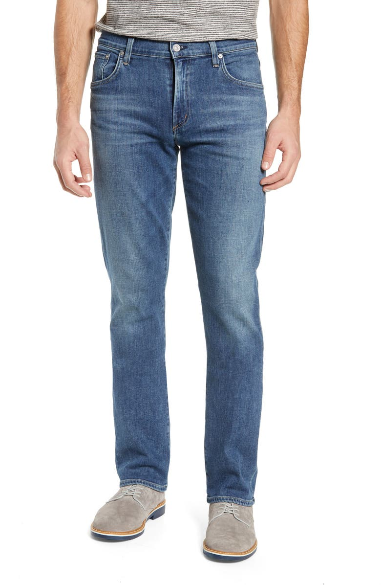 CITIZENS OF HUMANITY PERFORM - Gage Slim Straight Leg Jeans, Main, color, AURORA