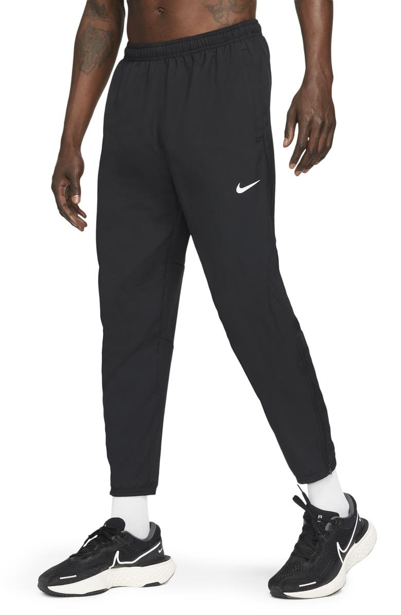 NIKE Dri-FIT Challenger Running Pants, Main, color, BLACK/ REFLECTIVE SILVER
