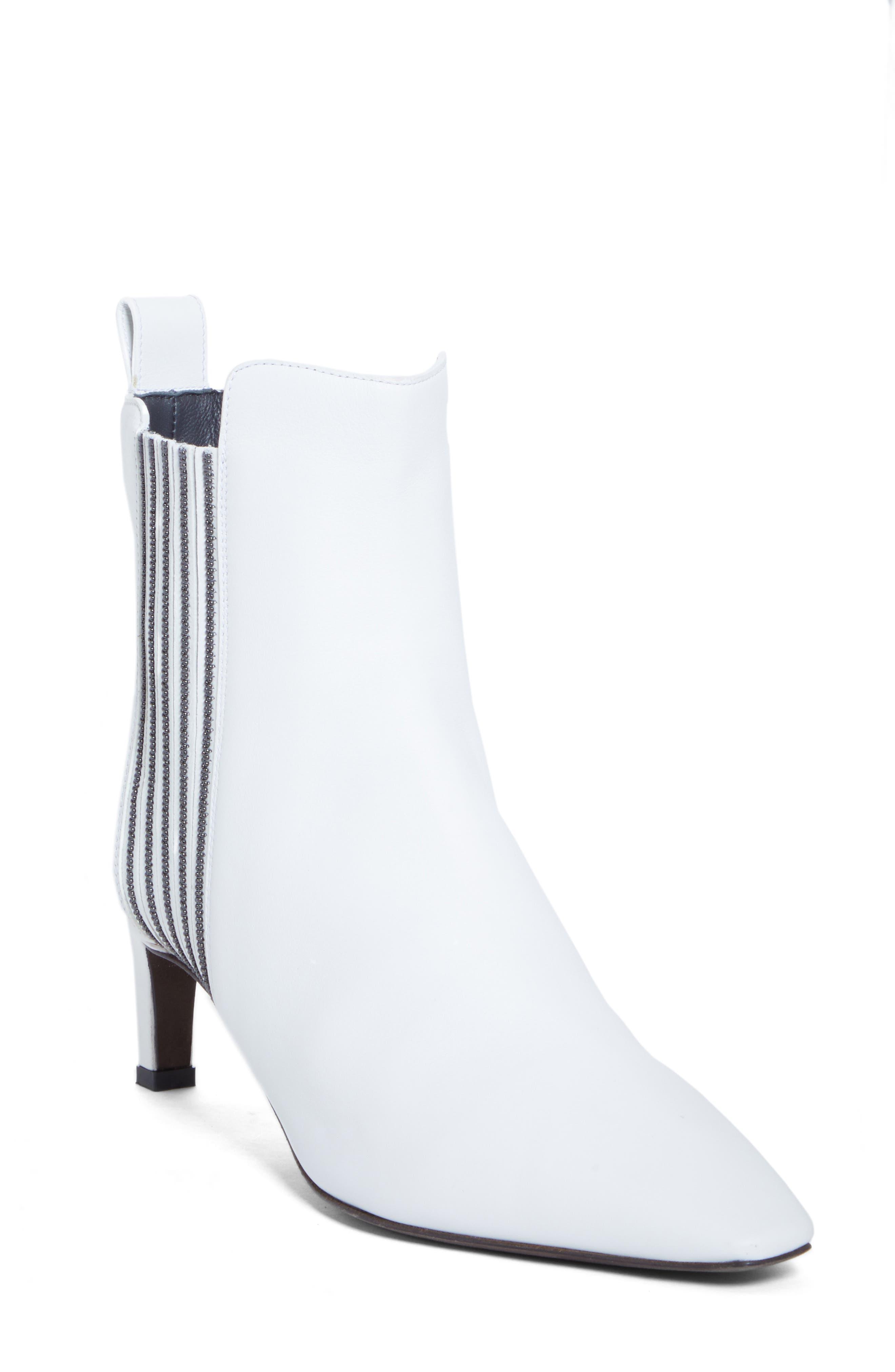 Brunello Cucinelli Boots Beaded Bootie