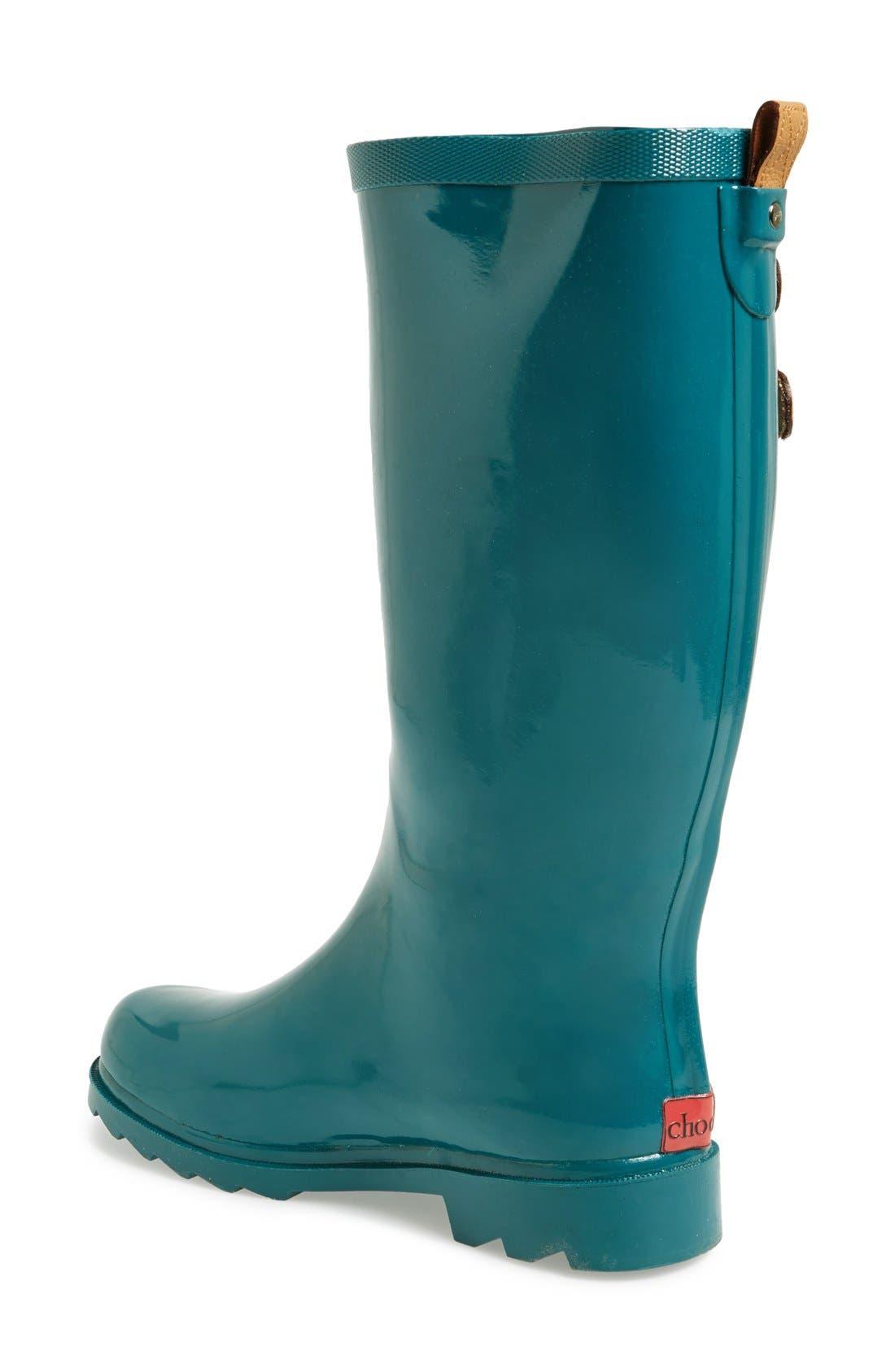 ,                             'Top Solid' Rain Boot,                             Alternate thumbnail 87, color,                             443