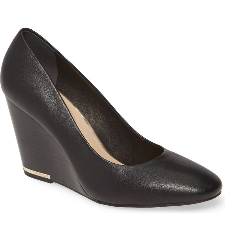 KENNETH COLE NEW YORK Merrick Wedge Pump, Main, color, 001
