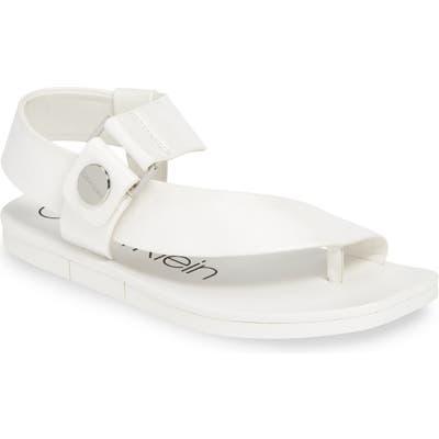 Calvin Klein Rikki Sandal- White