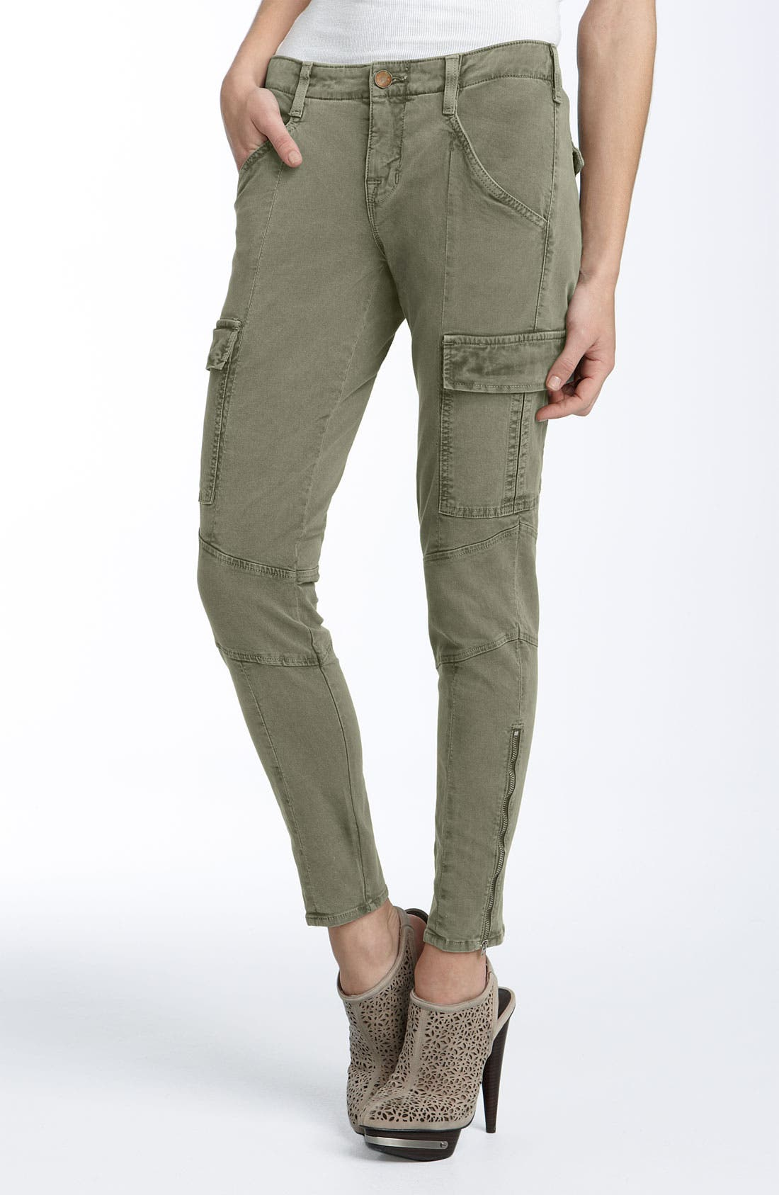 ,                             'Houlihan' Skinny Stretch Cotton Cargo Pants,                             Main thumbnail 6, color,                             231