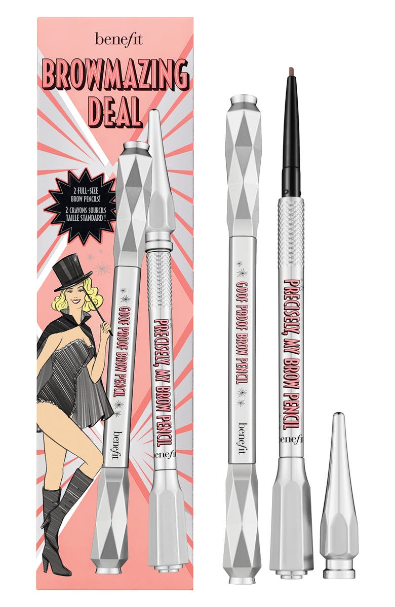BENEFIT COSMETICS Benefit BROWmazing Deal Eyebrow Pencil Set, Main, color, 03 WARM LIGHT BROWN
