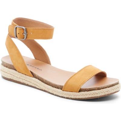 Lucky Brand Garston Espadrille Sandal, Yellow