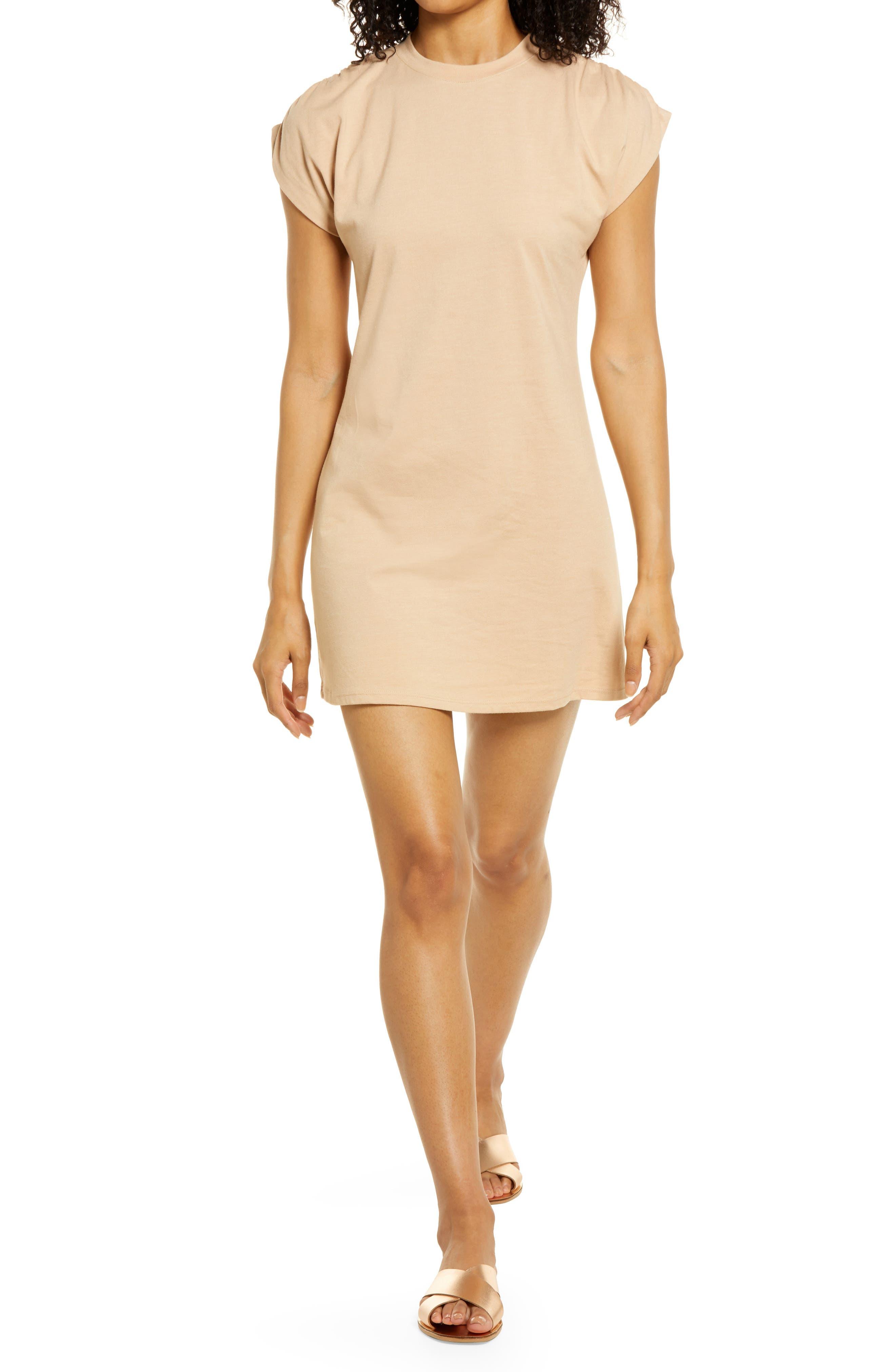 Dolman Sleeve T-Shirt Dress