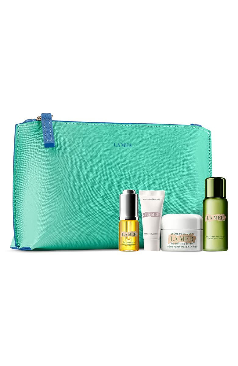 LA MER Mini Hydration Collection Créme Set, Main, color, 000