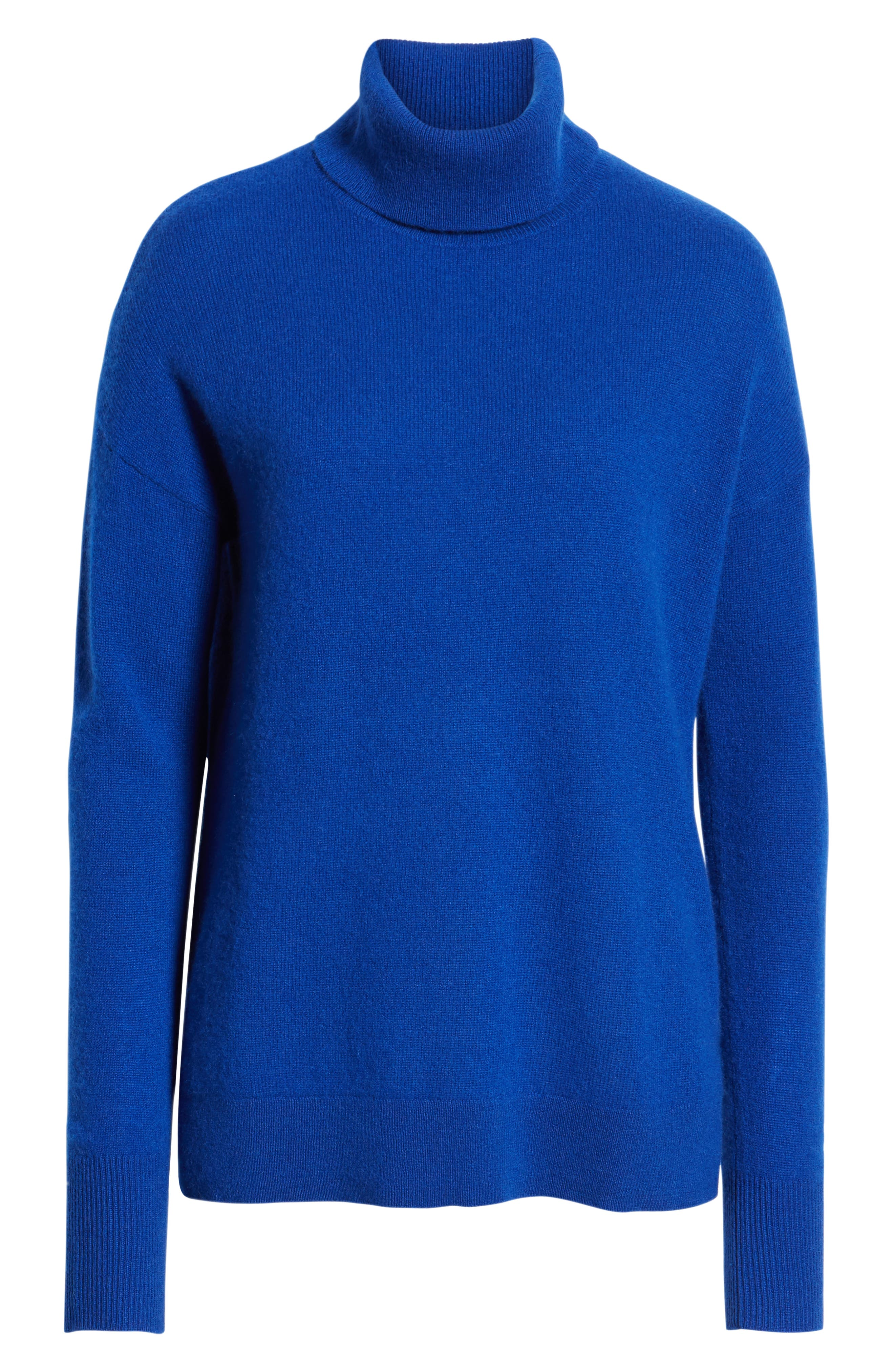,                             Cashmere Turtleneck Sweater,                             Alternate thumbnail 30, color,                             401