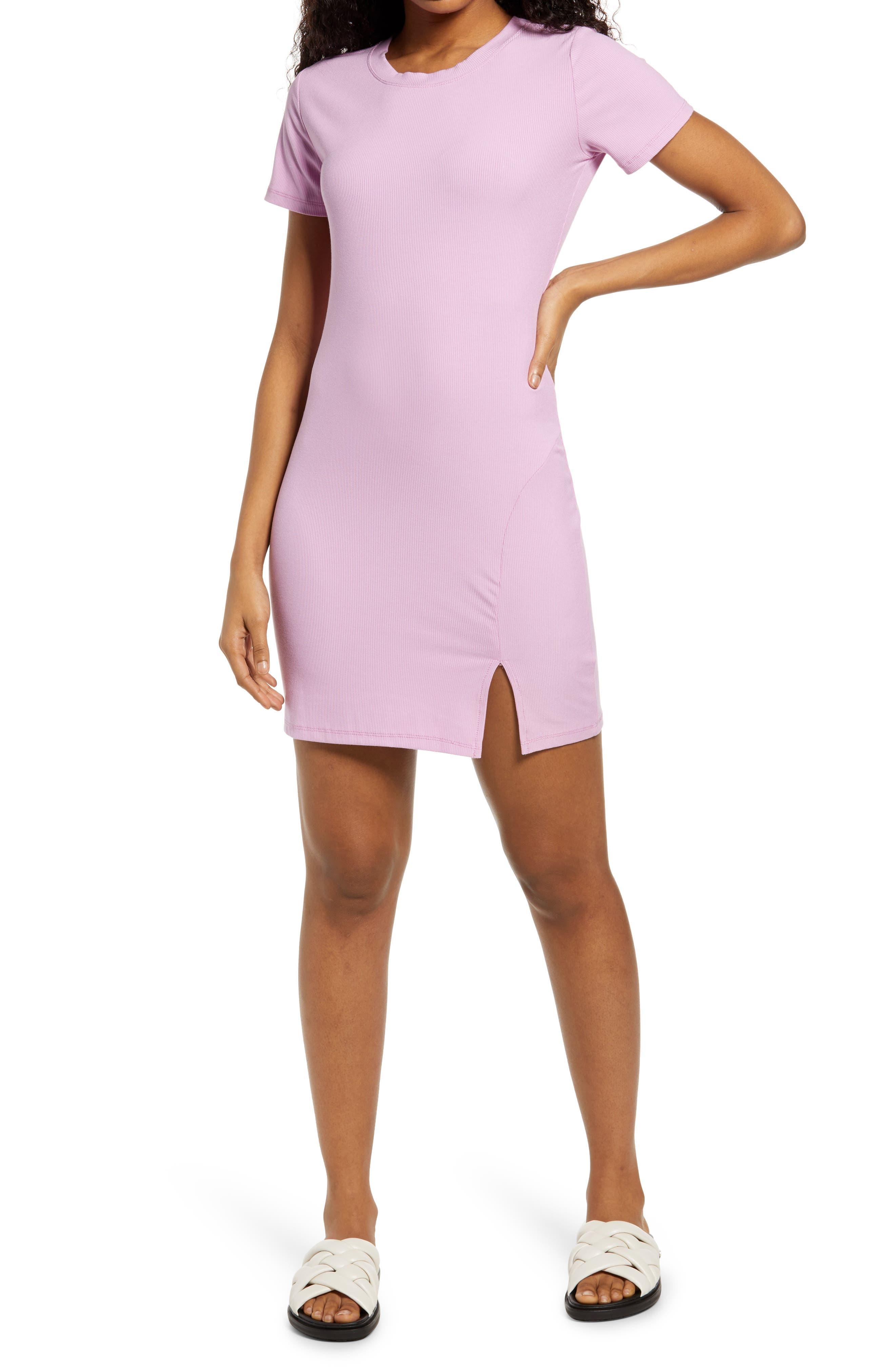 purple summer dress