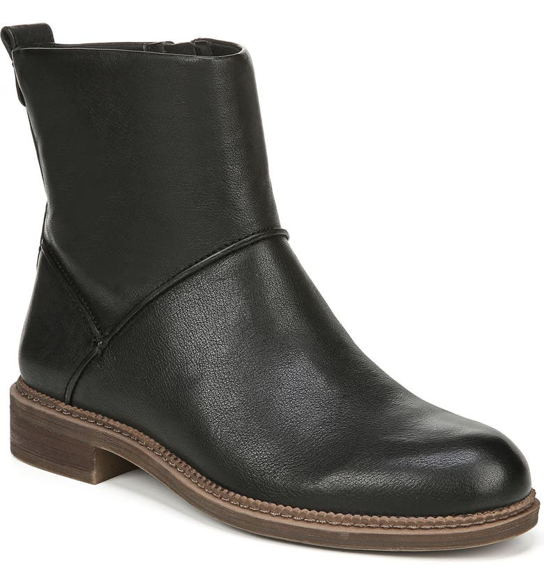 SARTO BY FRANCO SARTO Haven Bootie, Main, color, BLACK LEATHER