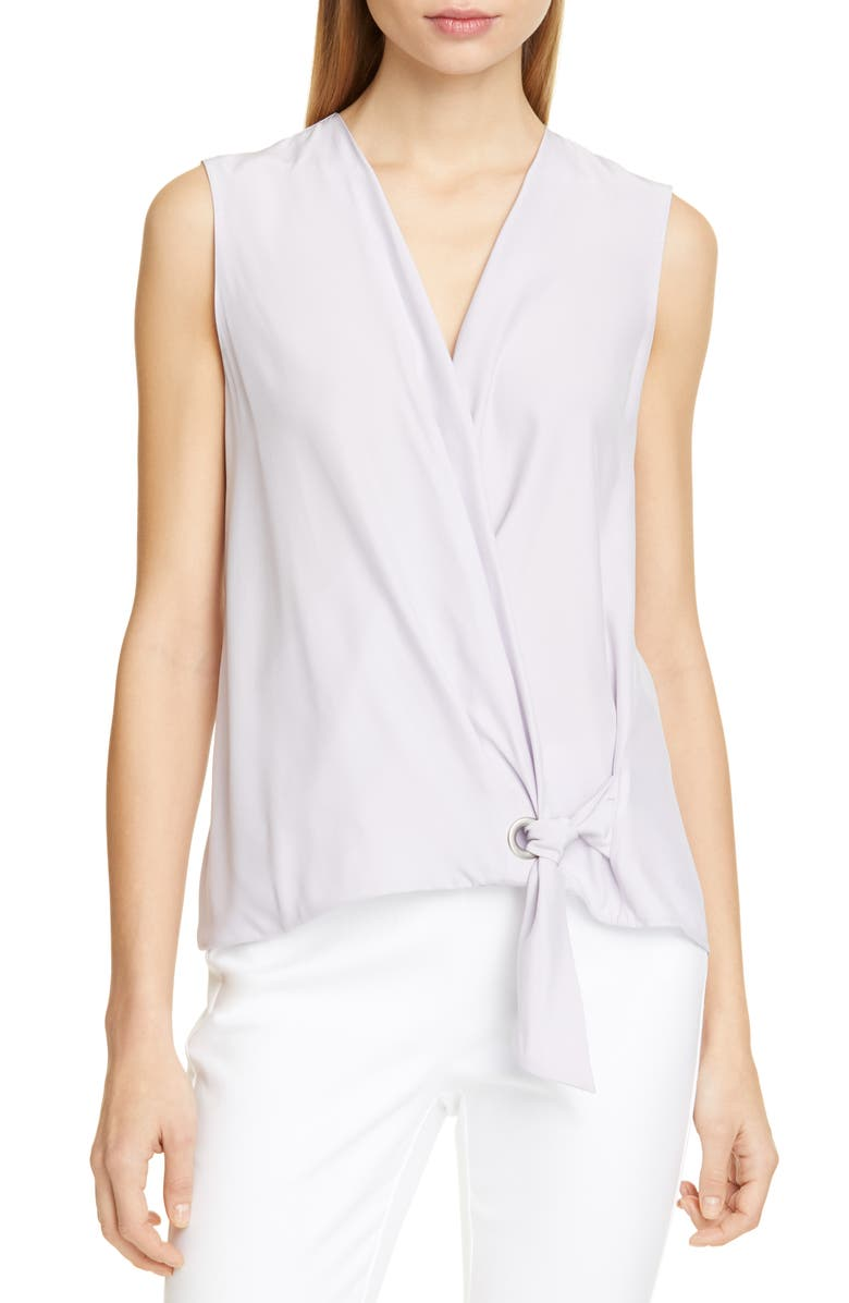 RAG & BONE Felix Silk Wrap Top, Main, color, 590