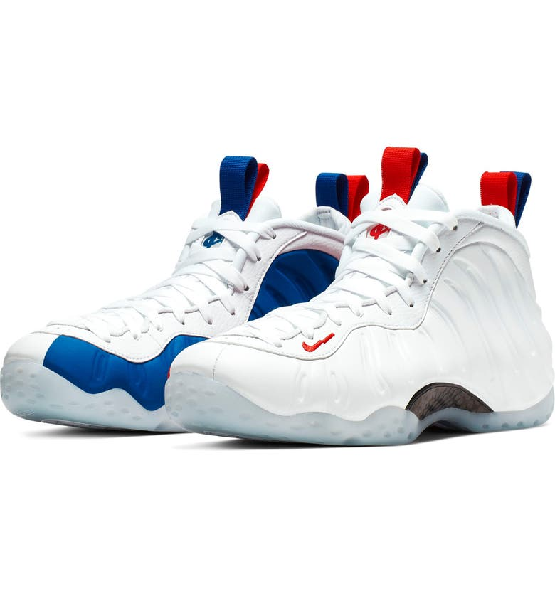 NIKE Air Foamposite One Sneaker, Main, color, 102