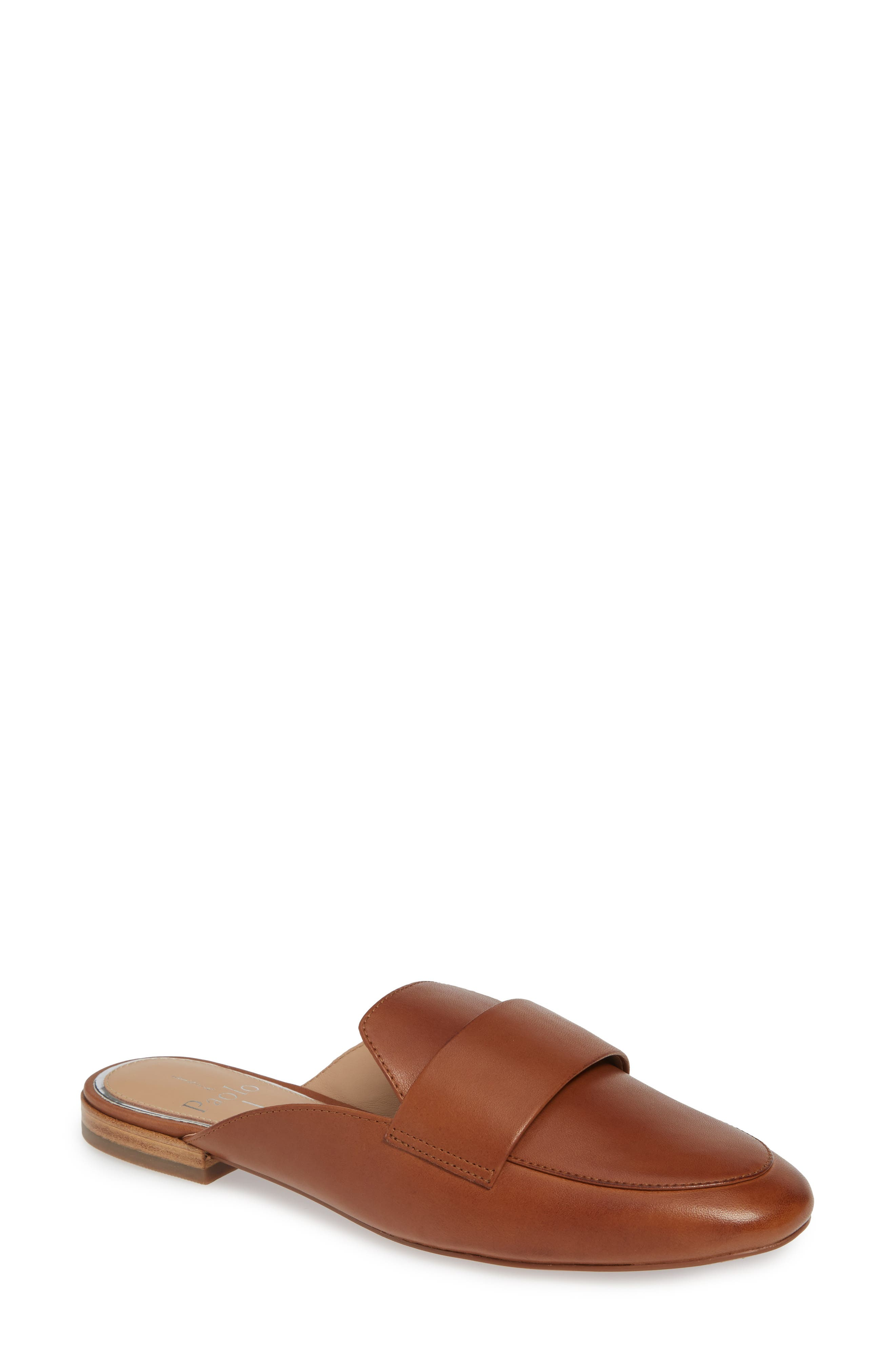 Linea Paolo Annie Loafer Mule, Brown