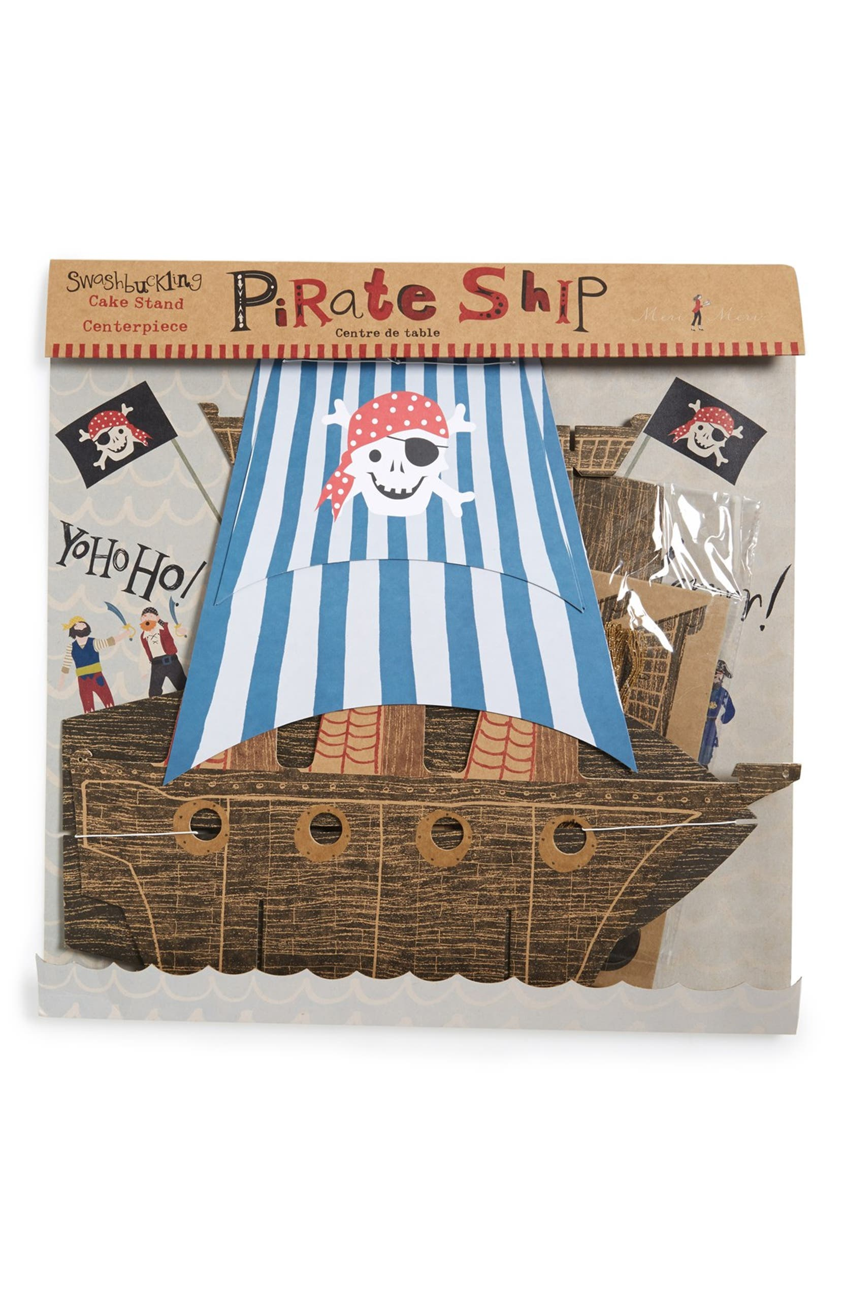 Meri Meri 'Ahoy There' Pirate Cupcake Stand Centerpiece | Nordstrom