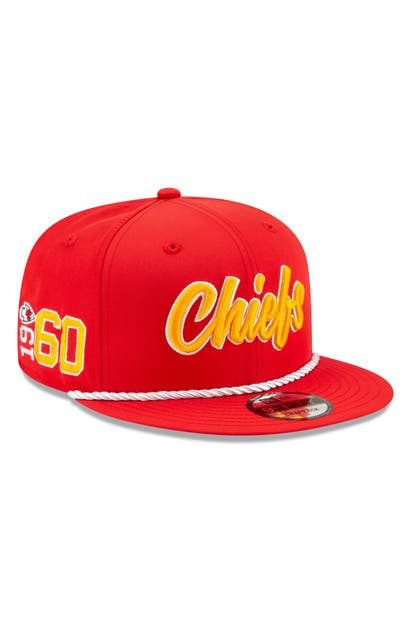 New Era Nfl Snapback Baseball Hat In Kansas City Chiefs