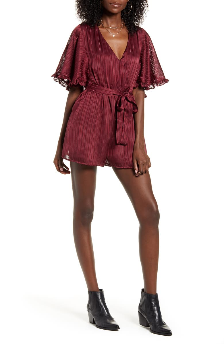 MINKPINK In the Moment Romper, Main, color, 930