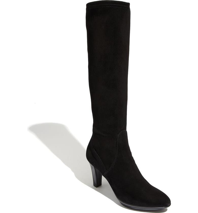 AQUATALIA by Marvin K. 'Rumba' Weatherproof Boot, Main, color, BLACK